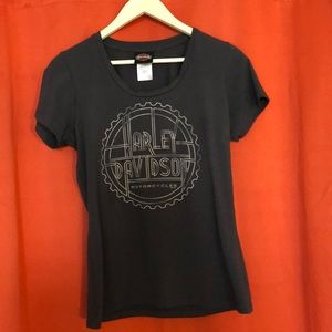 Harley Davidson Richmond VA ladies t shirt